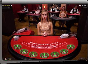 Codeta live casino Skärmdump