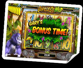 bonus på gorilla go wild