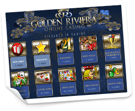 välkomstbonus på golden riviera casino