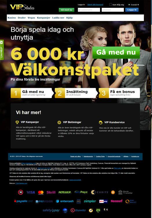Mobil Casino | 4.000 kr VÄLKOMSTBONUS | Casino.com