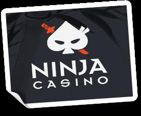 välkomstbonus på ninja casino