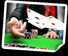 live casino med trekortspoker