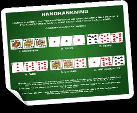 trekortspoker händer