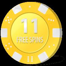 free spins på videoslots