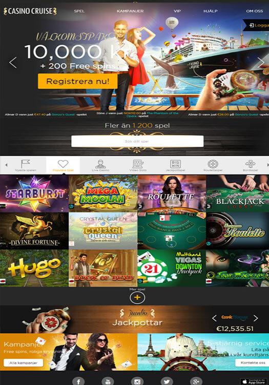 cruise casino mobile