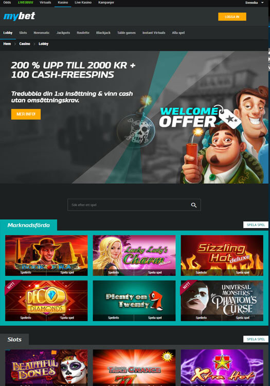 mybet.com casino
