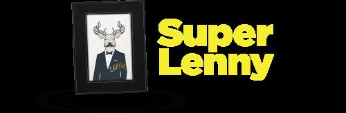 SuperLenny Logga