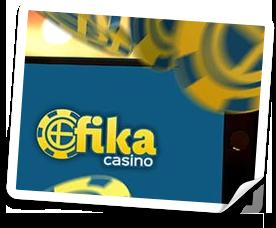 gratis bonus på Fika casino